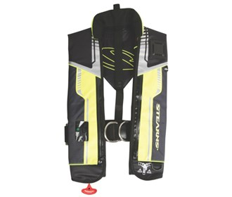 stearns fastpak 33g auto manual inflatable life vest