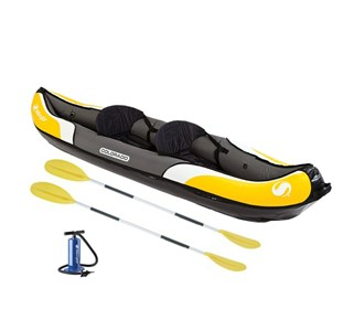 sevylor colorado 2 person kayak combo