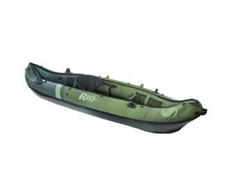 sevylor rio 1 person fishing canoe