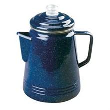 Coleman Kitchen Essentials coleman 14 cup enamelware percolator