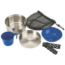 Coleman Kitchen Essentials coleman stainless steel mess kit