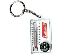 Coleman Essentials coleman zipper pull thermometer and compass