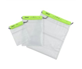 coleman waterproof pouches 3 set