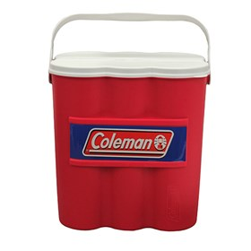 coleman 12 can chiller with ice sub cooler