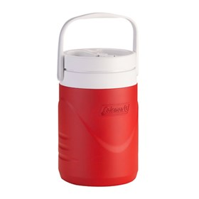 coleman teammate beverage cooler red