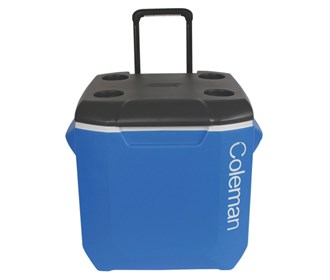coleman 45 quart wheeled cooler