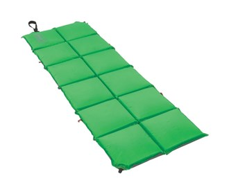 coleman cuboid accordion self inflating pad