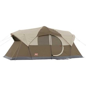coleman weathermaster 9 person hinged door tent