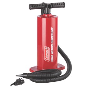 coleman quickpump hand pump dual action inflation system