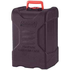 coleman propane hard shell lantern carry case