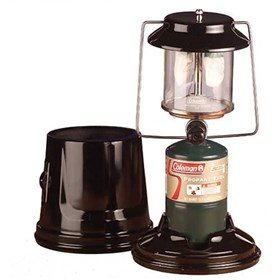 coleman 2 mantle perfectflow quickpack propane lantern with case