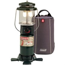 Coleman Lighting coleman deluxe perfectflow lantern with soft carry case