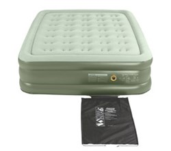 Coleman Queen Size coleman double high  queen size airbed