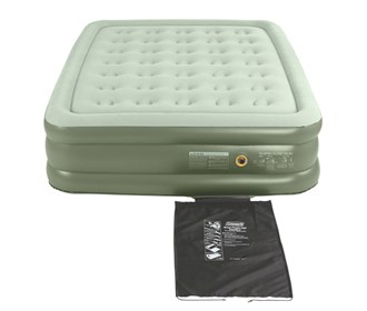 coleman double high  queen size airbed
