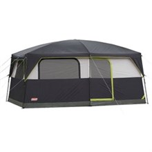 Coleman shop by size 6 to 9 people signature prairie breeze 9 person cabin tent