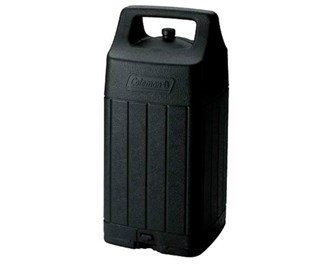 coleman liquid fuel lantern hard shell carry case