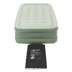 coleman supportrest double high twin size airbed