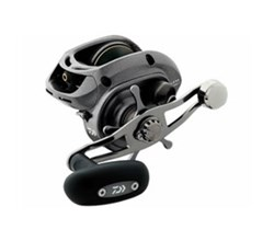 High Capacity Left Hand Retrieve Baitcasting Reels daiwa lexa300hsl p