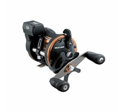 Left Hand Winding Linecounter Reels daiwa sg27lc3blw