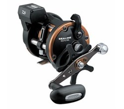 Left Hand Winding Linecounter Reels daiwa sg27lc3bl