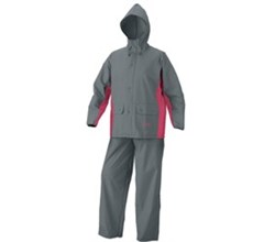 Coleman Apparel coleman women pvc poly suit grpk