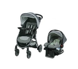 Nursery graco fast action 2 travel system