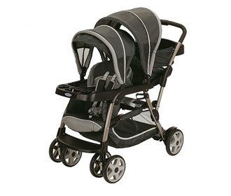 graco ready 2 grow duo lx stroller click connect
