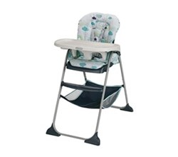 Standard High Chairs graco slim snacker highchair