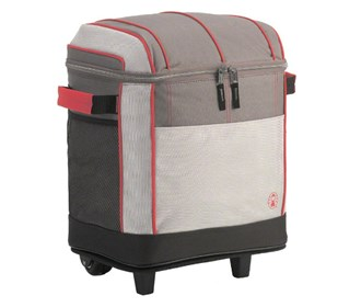coleman soft 42 can cooler wheeled with liner mix
