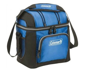 coleman soft 9 can cooler with hard liner mix