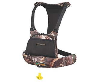 stearns max5 manual inflate chest pack camo