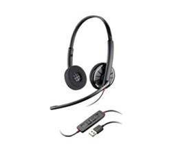 Plantronics Corded Headsets plantronics blackwire c320 m taa