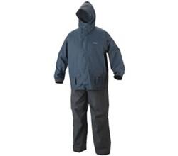 Coleman Apparel coleman pvc poly suit grey blue