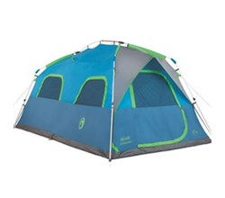 Coleman shop by size 6 to 9 people coleman 8 person instant tent