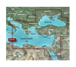 Meriterranean Sea Bluechart Maps  garmin hxeu717l