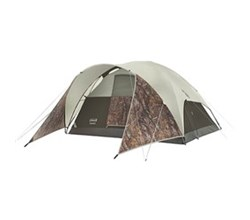 Coleman Modified Dome Tents coleman evanston realtree xtra 4 person tent