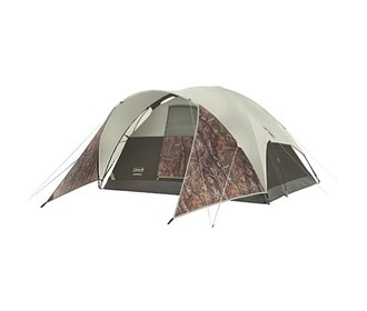 coleman evanston realtree xtra 4 person tent