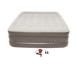 Coleman Queen Size coleman supportrest plus pillowstop double high queen size airbed