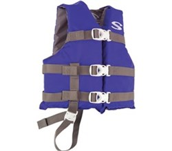 Stearns stearns classic series child life vest blue grey