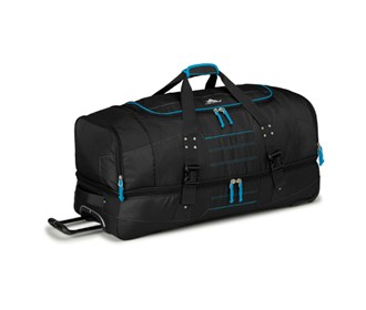 high sierra 36 in drop bottom wheeled duffel