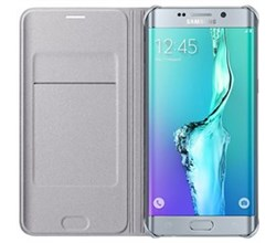 White Cases samsung wallet flip cover for s6 edge plus
