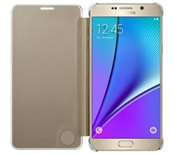 Galaxy Note 5 SM N920 samsung s view flip cover clear for note5