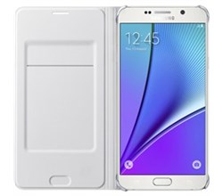White Cases samsung wallet flip cover for note5
