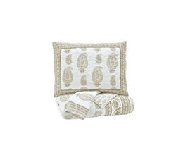 Beautyrest Coverlet Sets ashley furniture almeda beige coverlet set