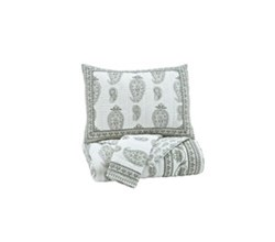 Beautyrest Coverlet Sets ashley furniture almeda gray coverlet set