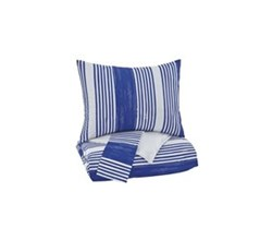 Beautyrest Duvet Sets in Full Size ashley furniture taries blue duvet cover set