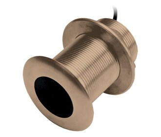 lowrance b150m chirp thru hull transducer