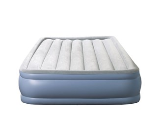 beautyrest twin size hi loft raised express air bed with hands free pump