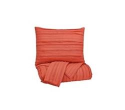 Beautyrest Coverlet Sets in King Size ashley furniture solsta coral coverlet set