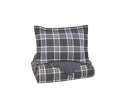 Beautyrest Duvet Sets in Twin Size ashley furniture baret gray duvet cover set
